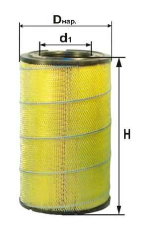 Фильтр воздушный DIFA 4387