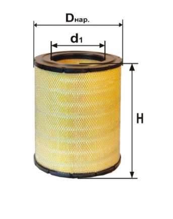 Фильтр воздушный DIFA 4389