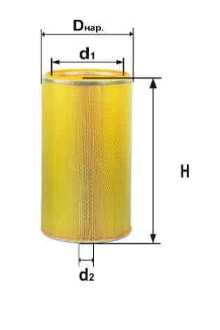 Фильтр воздушный DIFA 4392МК-01
