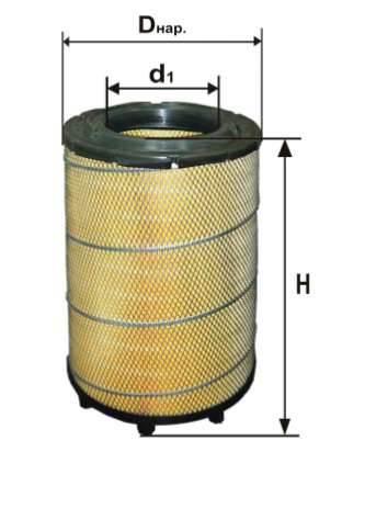 Фильтр воздушный DIFA 4395