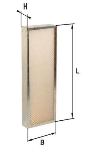 Фильтр воздушный DIFA 4704