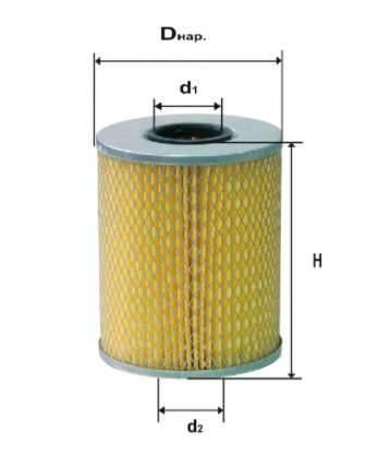 Фильтр масляный DIFA 5301М