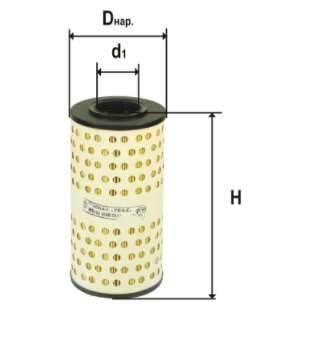 Фильтр масляный DIFA 5302.1К