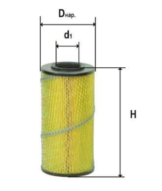 Фильтр масляный DIFA 5302М