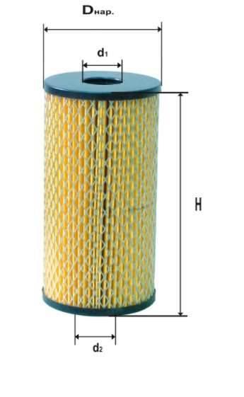 Фильтр масляный DIFA 5305MK