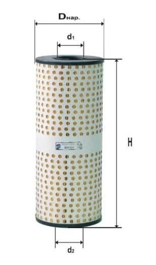 Фильтр масляный DIFA 5306