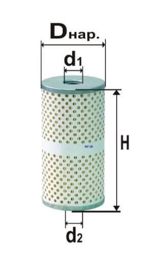 Фильтр масляный DIFA 5308