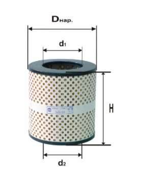 Фильтр масляный DIFA 5316