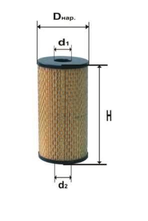 Фильтр масляный DIFA 5319М