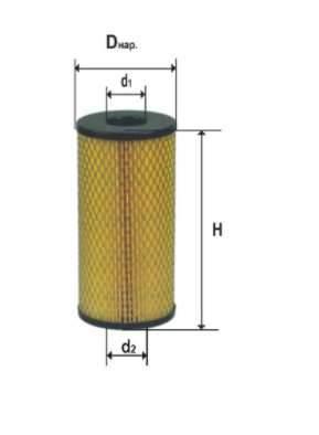 Фильтр масляный DIFA 5320М
