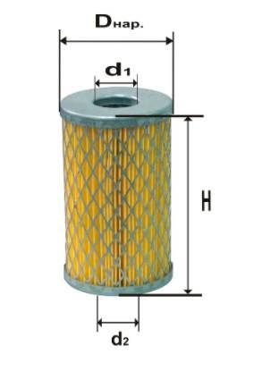 Фильтр масляный DIFA 5322М
