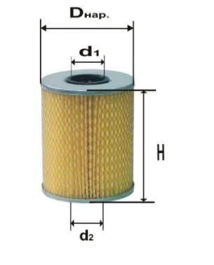Фильтр масляный DIFA 5327МК