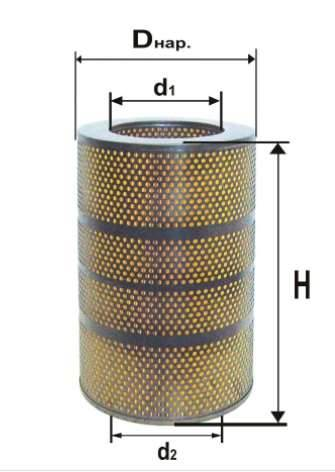 Фильтр масляный DIFA 5341М