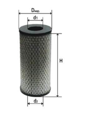 Фильтр масляный DIFA 5402МК