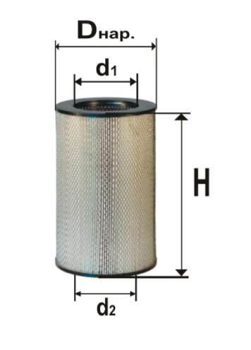 Фильтр масляный DIFA 5409МК