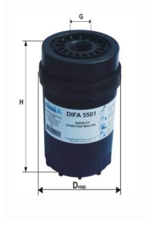Фильтр масляный DIFA 5501