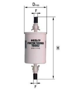Фильтр топливный 6002