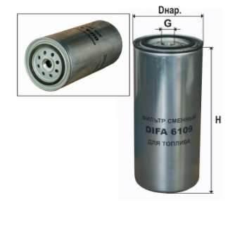 Фильтр топливный 6109