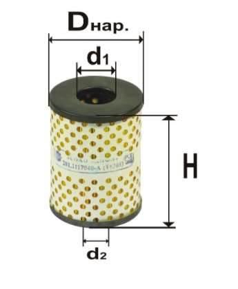 Фильтр топливный 6301