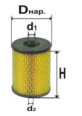Фильтр топливный 6301М