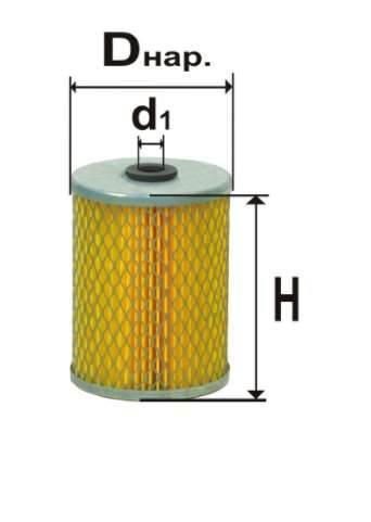 Фильтр топливный 6302М