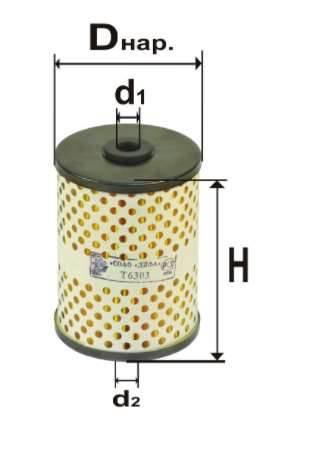 Фильтр топливный 6303