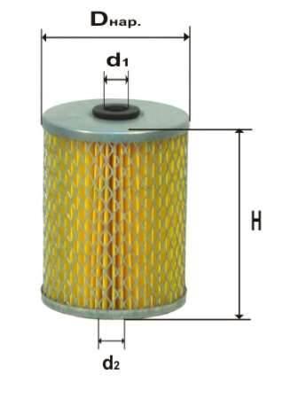 Фильтр топливный 6303М