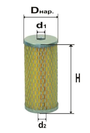 Фильтр топливный 6304М