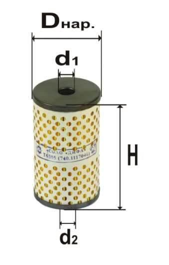 Фильтр топливный 6305