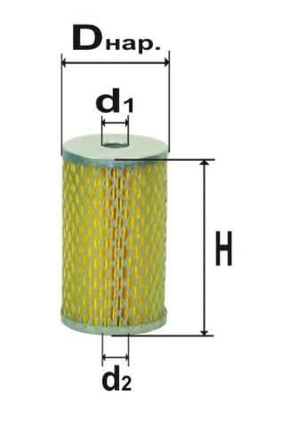 Фильтр топливный 6305М