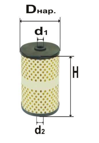 Фильтр топливный 6306