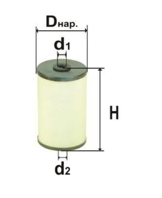 Фильтр топливный 6306.1р