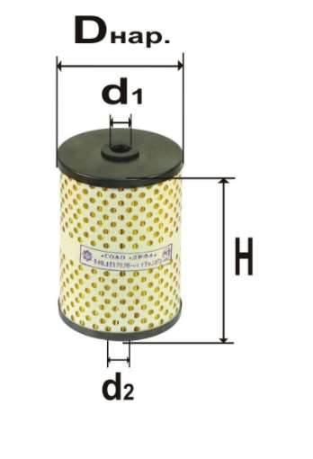 Фильтр топливный 6307