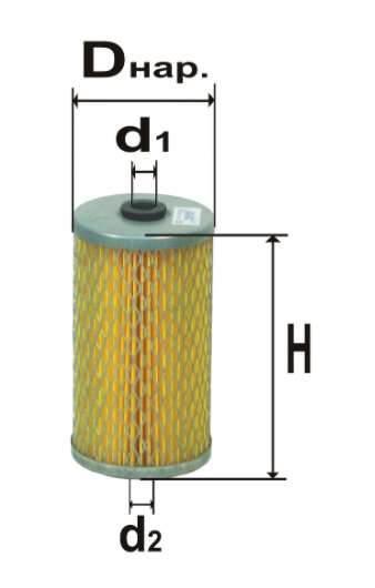 Фильтр топливный 6307М