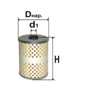 Фильтр топливный 6308