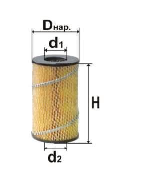 Фильтр топливный 6309М