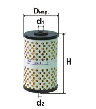 Фильтр топливный 6311