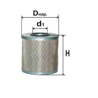 Фильтр топливный 6314C
