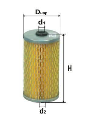 Фильтр топливный 6316