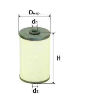 Фильтр топливный 6316.1P