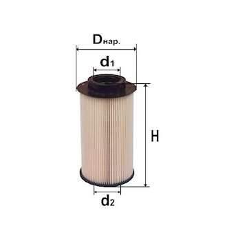 Фильтр топливный 6321E