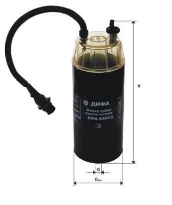 Фильтр топливный 6403/2