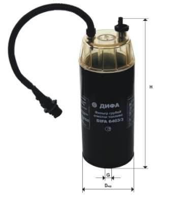 Фильтр топливный 6403/3